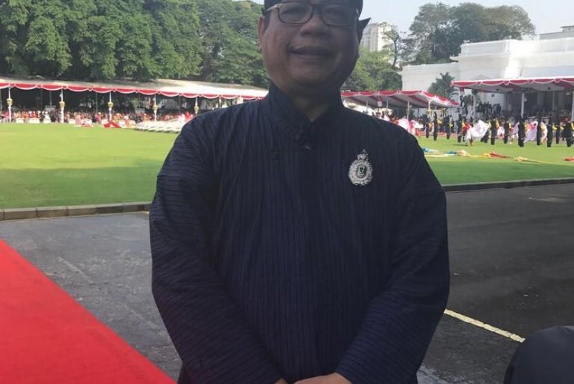 Sekretaris Jenderal DPD RI  Sudarsono Hardjosoekarto.