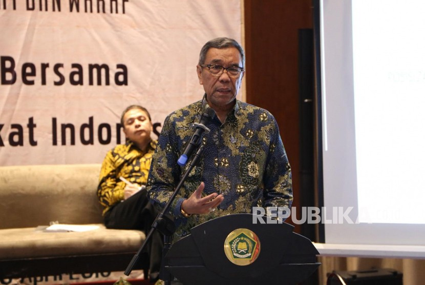 Sekretaris Jenderal Kementerian Agama Nur Syam