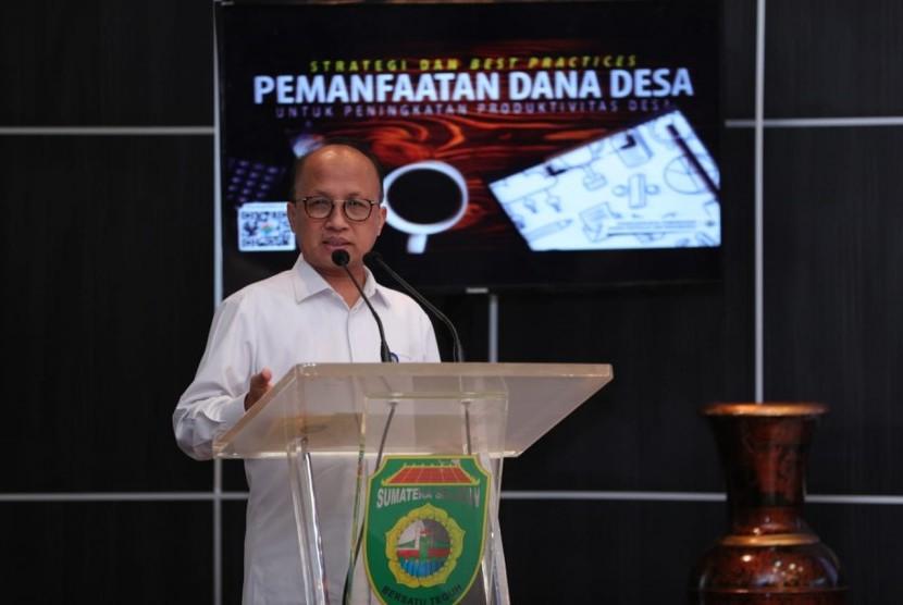 Sekretaris Jenderal Kementerian Desa, Pembangunan Daerah Tertinggal dan Transmigrasi Anwar Sanusi.