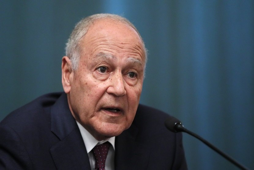 Sekretaris Jenderal Liga Arab Ahmed Aboul Gheit