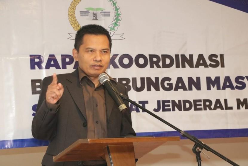Sekretaris Jenderal MPR RI Ma'ruf Cahyono.
