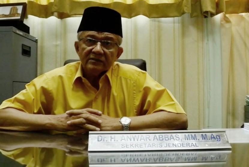 Sekretaris Jenderal MUI, Buya Anwar Abbas