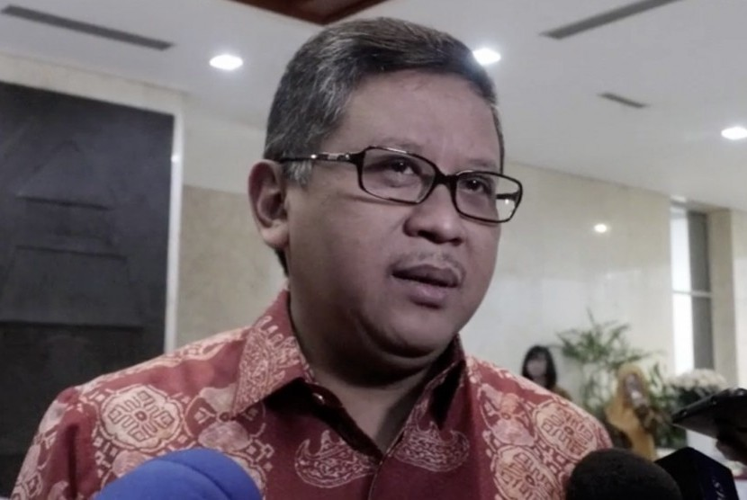 Sekretaris Jenderal Partai Demokrasi Indonesia Perjuangan (PDIP) Hasto Kristiyanto