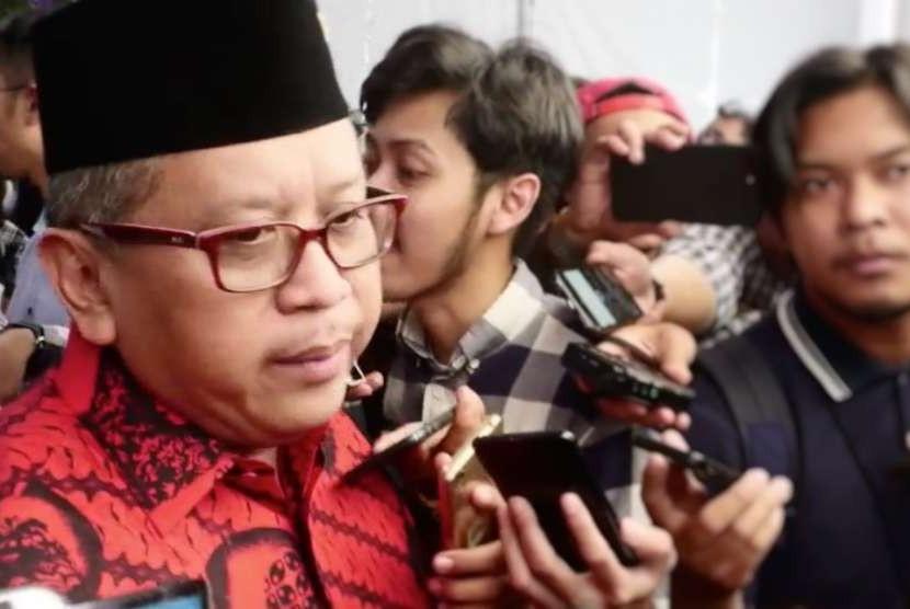Secretary General of Indonesian Democratic Party of Struggle (PDIP), Hasto Kristiyanto