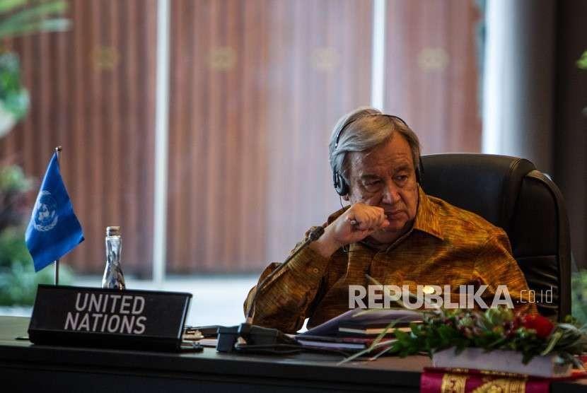 Sekretaris Jenderal Persatuan Bangsa-Bangsa Antonio Guterres.