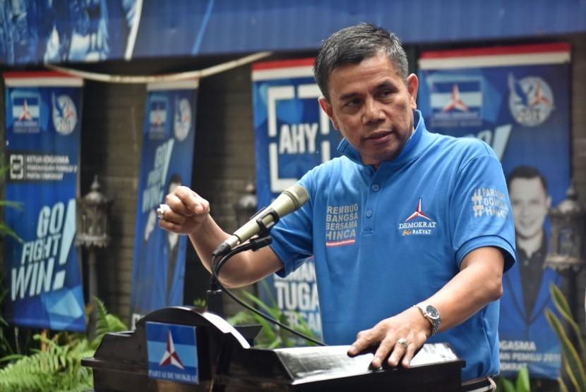 Sekretaris Jenderal (Sekjen) Partai Demokrat (PD) Hinca Pandjaitan