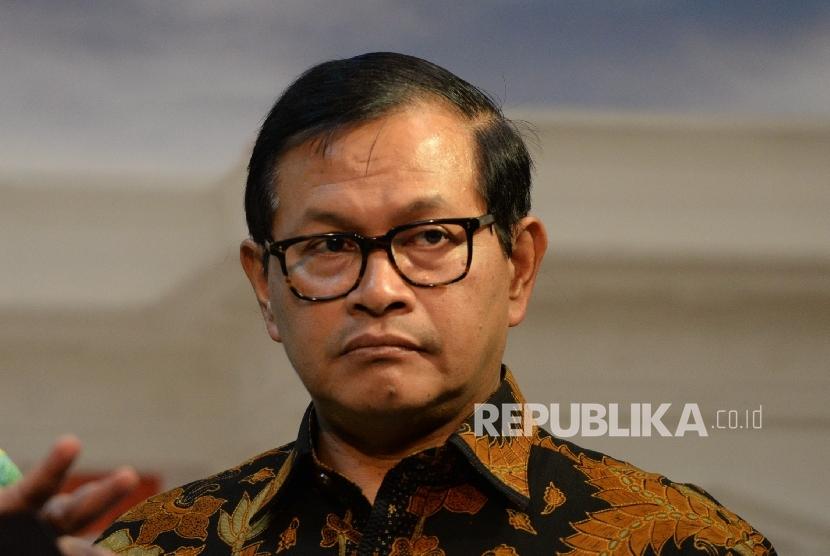 Sekretaris Kabinet Pramono Anung. (Republika/ Wihdan)