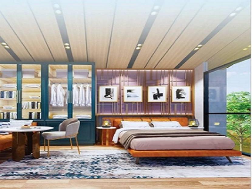Sektor properti mulai pulih pada Semester II/2021 dan rumah tapak tetap menjadi favorit pilihan masyarakat. Tampak salah satu unit show Cendana Parc Lippo Karawaci Tangerang.