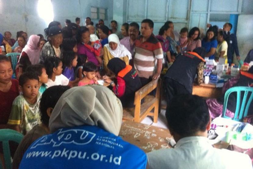 Selama sebulan, PKPU memberikan layanan kesehatan di Subang