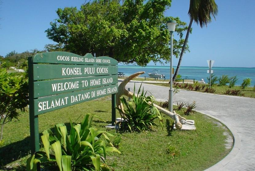 Selamat di Kepulauan Cocos.