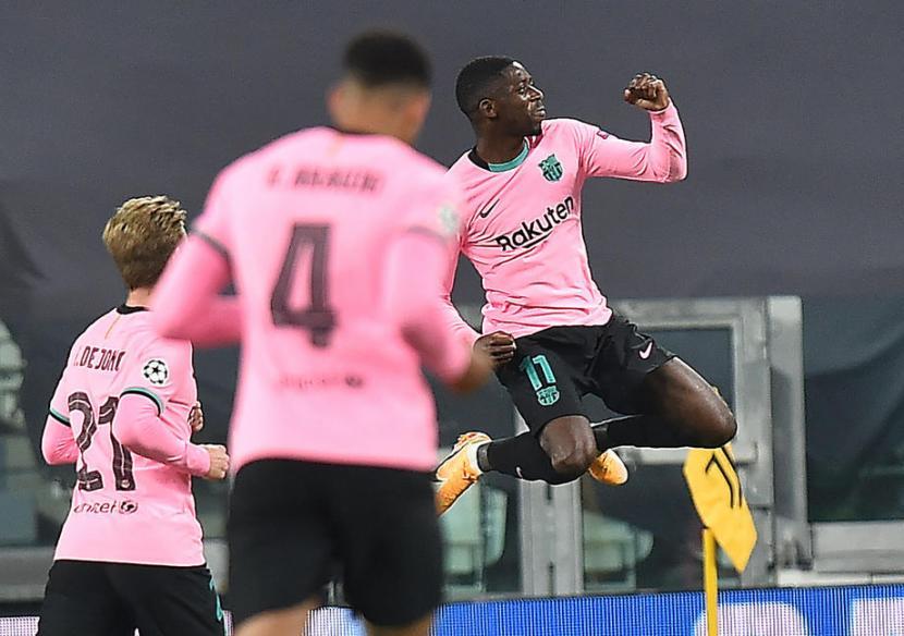 Catatan Penting Kemenangan Barcelona di Turin   Republika Online