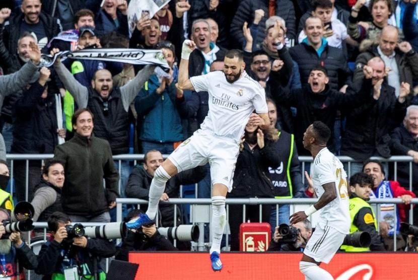 Zidane Berharap Benzema Kembali Tajam