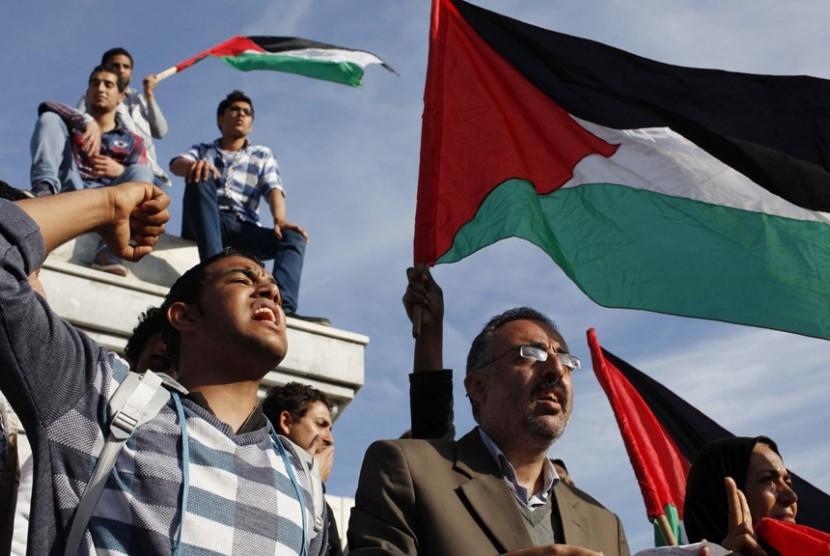 Selebrasi perdamaian Hamas dan Fatah (ilustrasi)