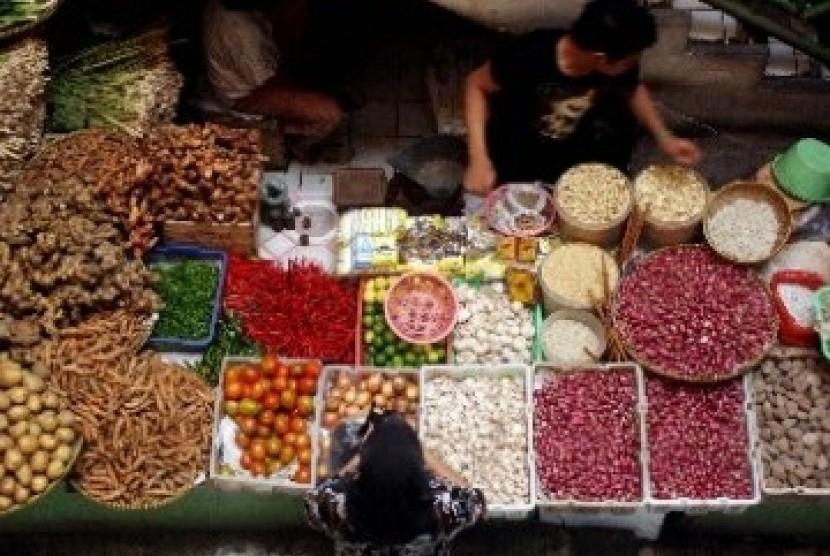 Sembako di Pasar Tradisional (ilustrasi)