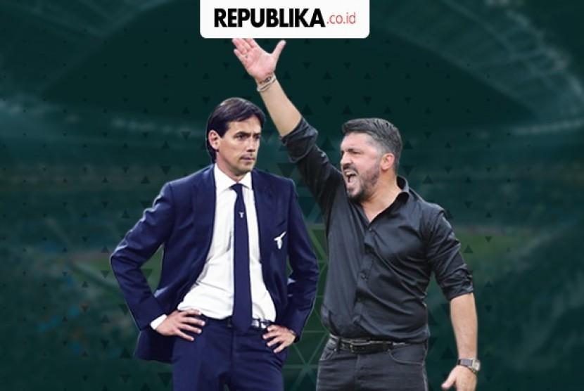 Semi final Coppa Italia, Lazio vs AC Milan.