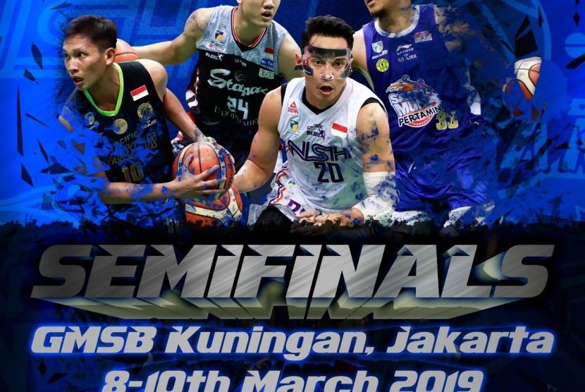 Semifinal IBL Pertamax 2018/2019 dimulai Jumat (8/3) sore WIB.