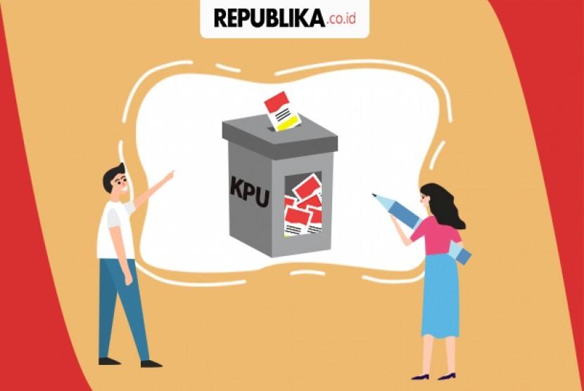 Sengketa pemilu (ilustrasi)