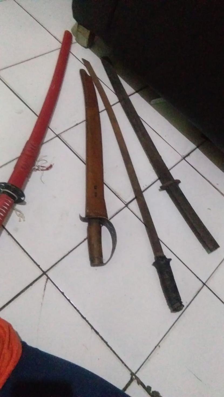 Petugas Temukan Senjata Tajam Saat Razia di LP Tulungagung (ilustrasi).