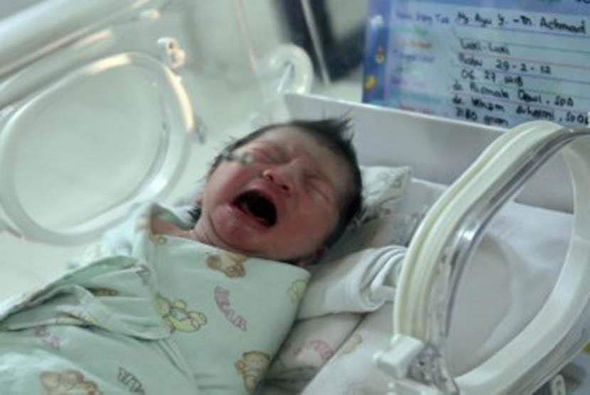 Bayi baru lahir. Dalam kondisi yang sangat jarang, bayi dapat terlahir sudah memiliki gigi.