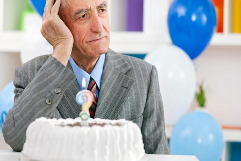 Seorang penderita alzheimer