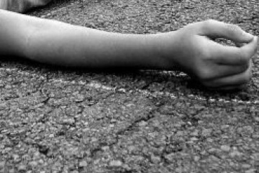 Seorang perempuan tewas  (ilustrasi)