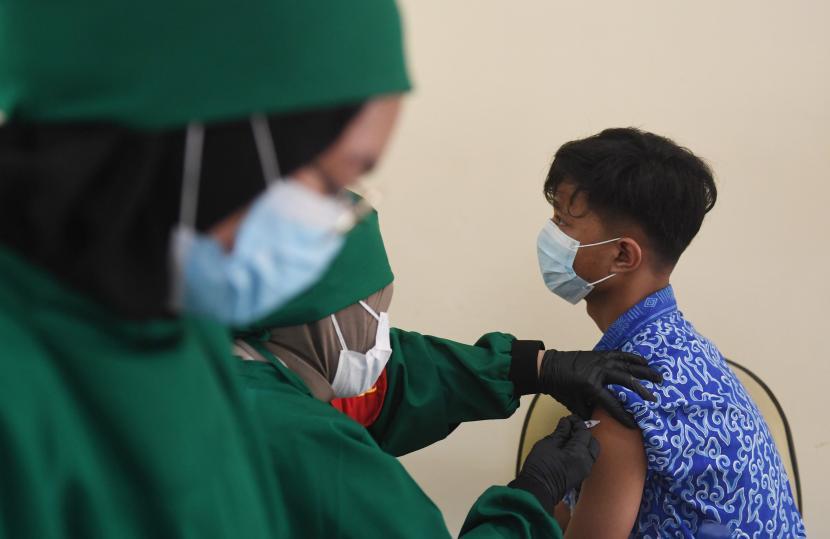 Khofifah Serukan Percepatan Vaksinasi Pelajar (ilustrasi).