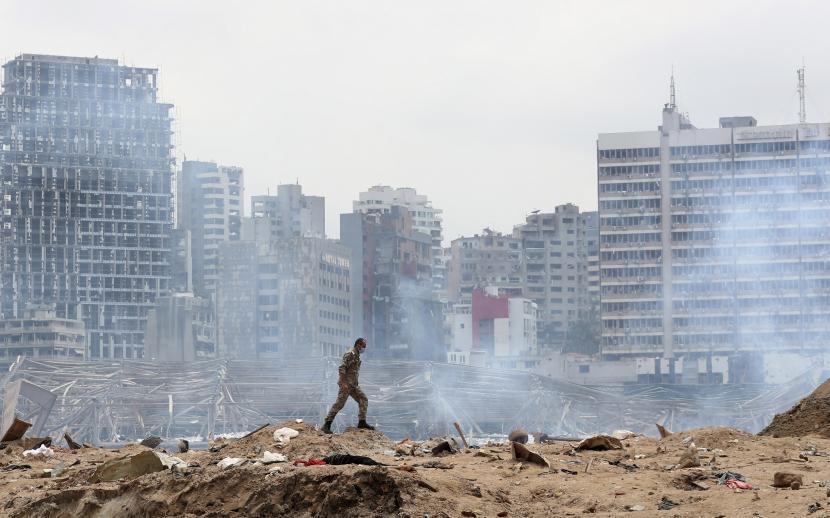 Laporan: Presiden dan PM Lebanon Sudah Tahu Ancaman Ledakan