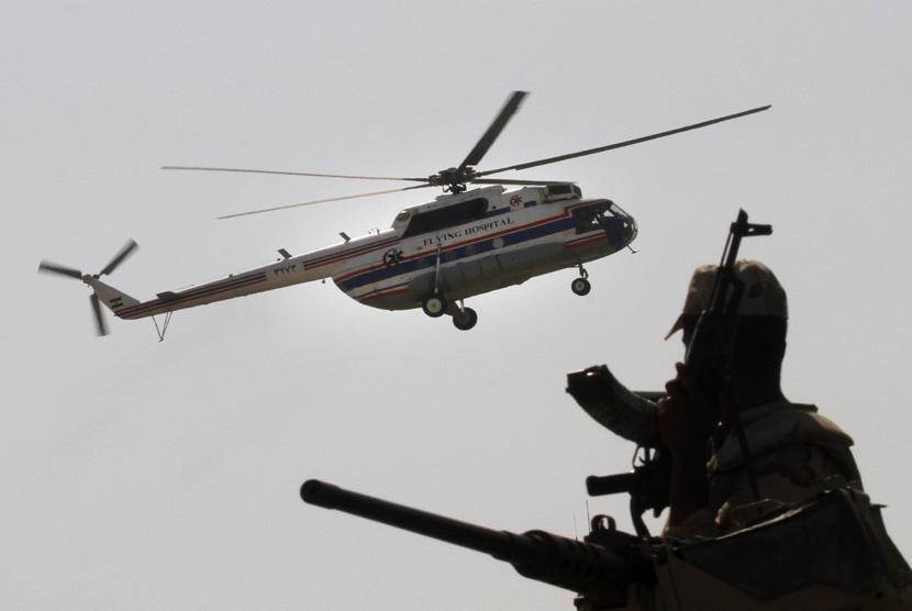 Serangan Kelompok Militan di Sinai Tewaskan Lima Tentara.  Foto: Tentara Mesir