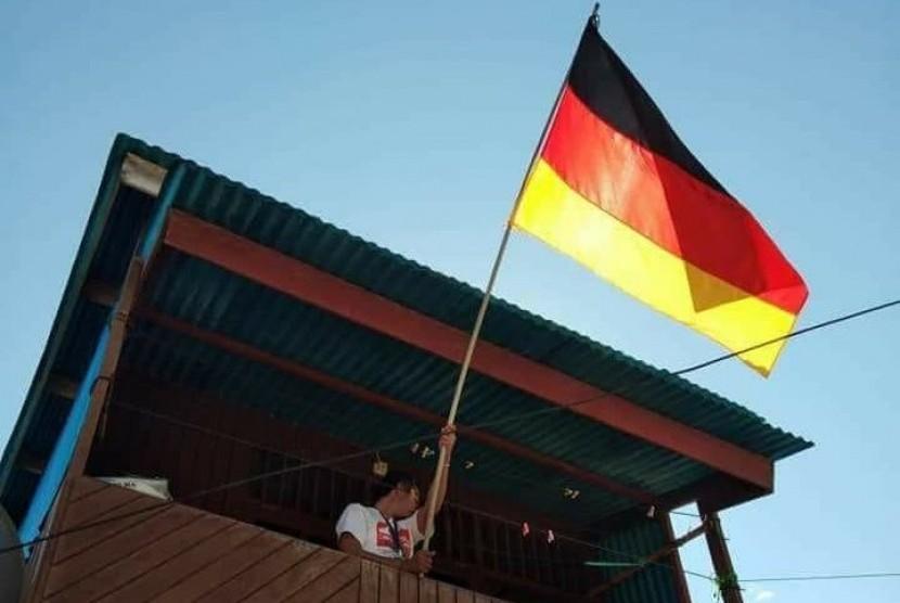 Bendera Jerman. (Ilustrasi)