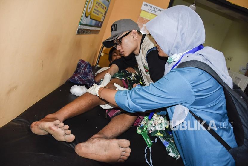 Gempa di Lombok Timur, Dua Meninggal Ratusan Rumah Rusak