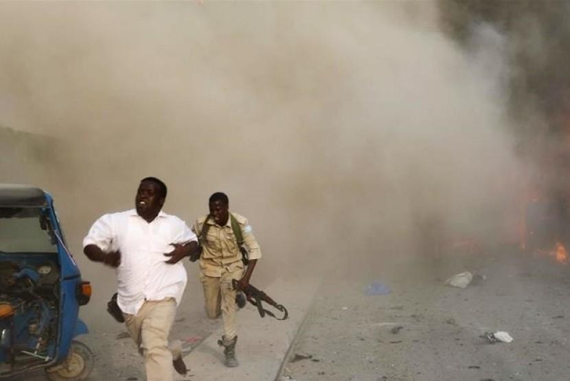 Serangan bom mobil di Mogadishu, Somalia