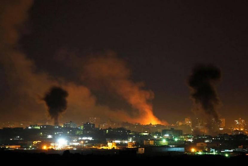 Serangan Israel di wilayah utara Gaza