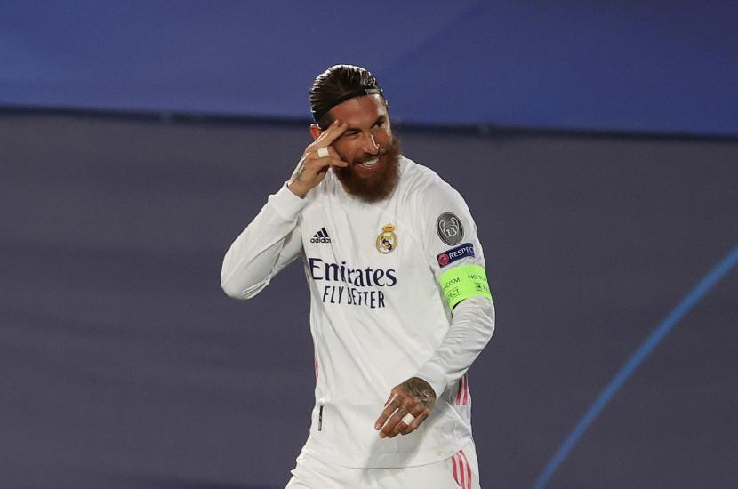 Tak Gabung Latihan Terakhir Madrid, Ramos Absen Lawan Huesca