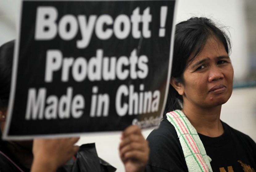 Seruan boikot produk Cina