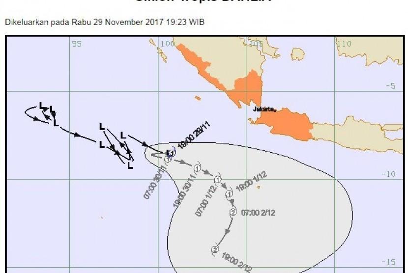 siklon tropis dahlia