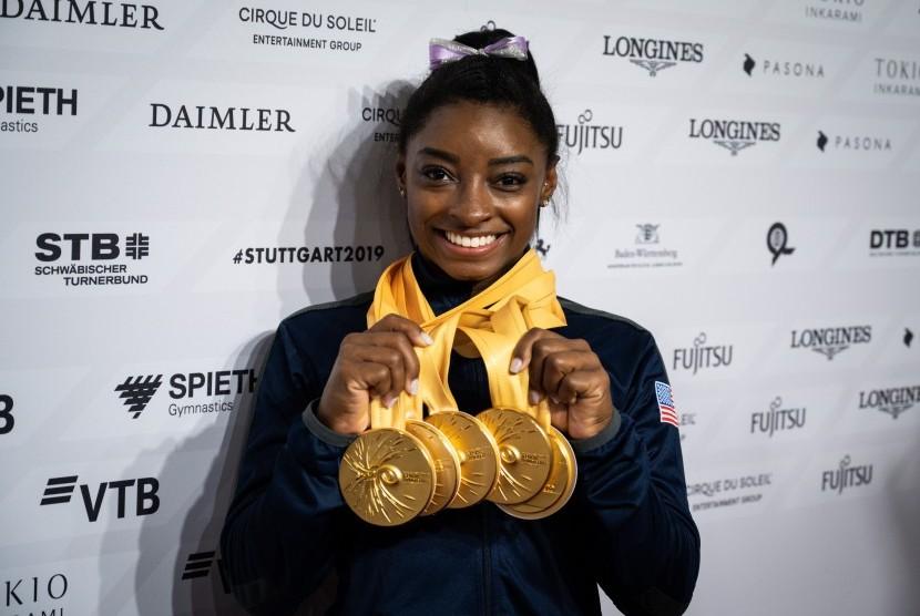 Atlet senam AS, Simone Biles