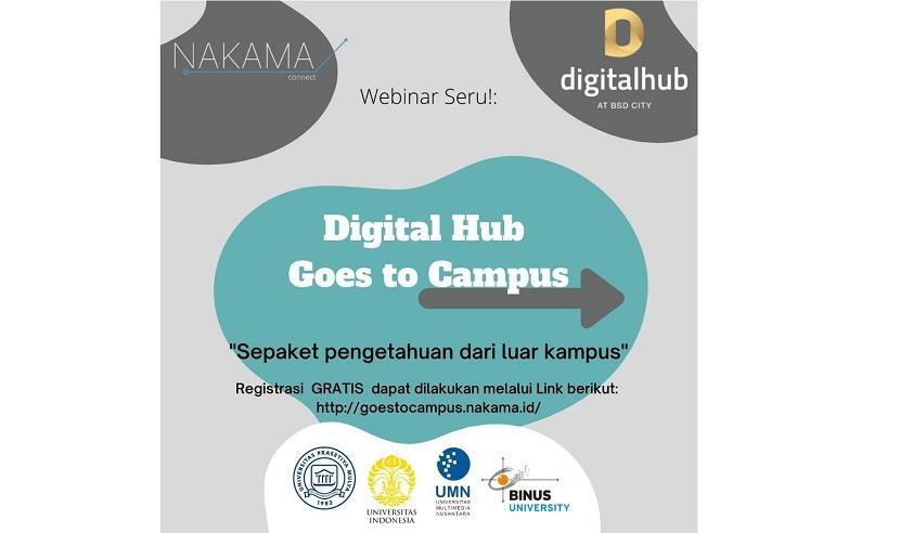 Sinar Mas Land gandeng Google dan sederet perusahaan teknologi di ajang Digital Hub Goes to Campus.