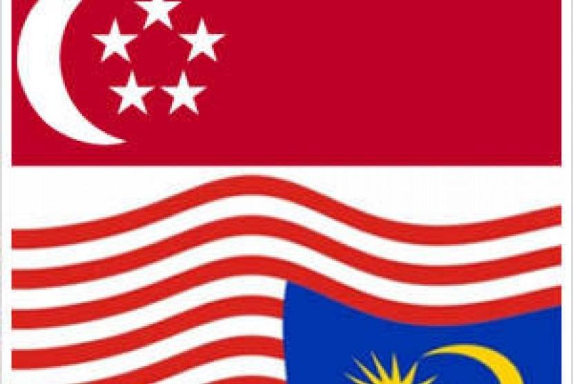 SIngapura-Malaysia