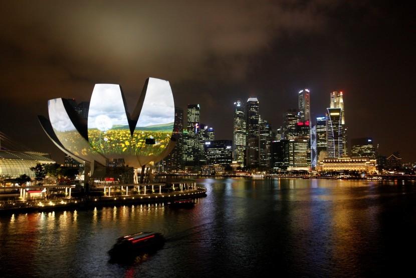 Singapura salah satu lokasi wisata yang digemari turis Indonesia.