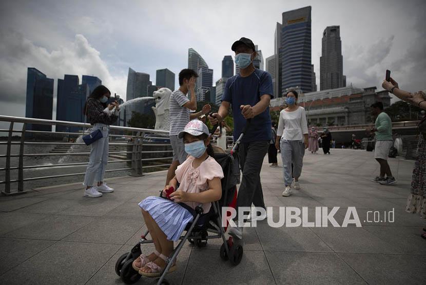 KBRI Ingatkan WNI Status Dorscon Singapura Masih Oranye