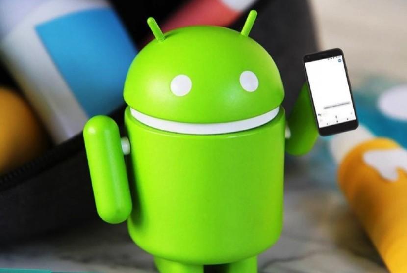 Sistem android. Ilustrasi