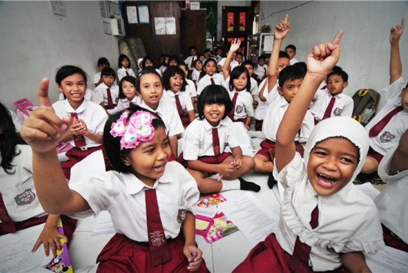 Siswa sekolah dasar (ilustrasi)