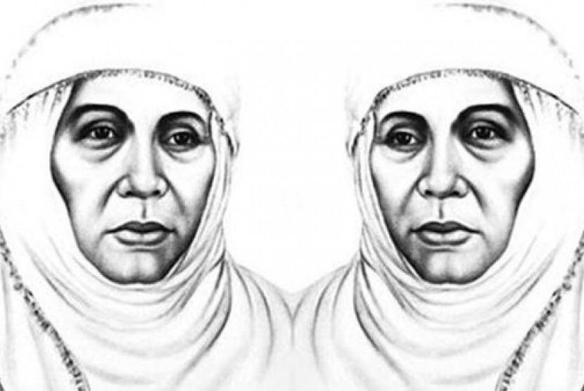 Siti Walidah Ahmad Dahlan.