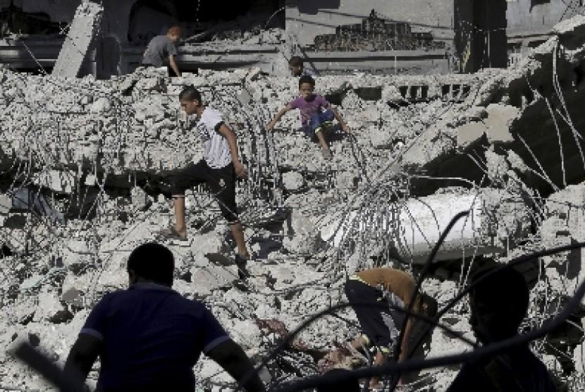 Situasi di Gaza, Palestina.