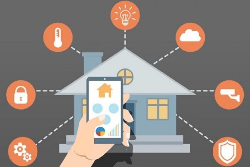 Internet of Things (IoT) menunjang keberadaan Smart Home.