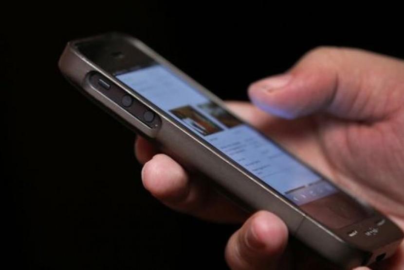 Smartphone. Ilustrasi