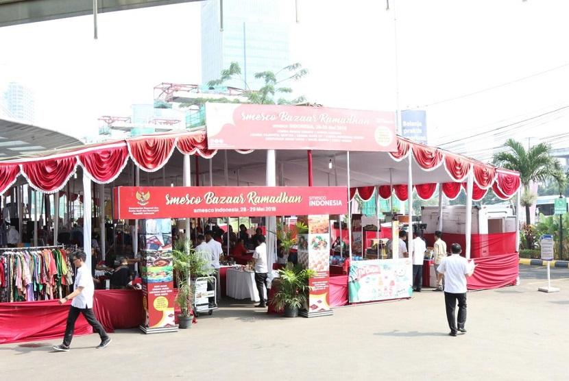Smesco Indonesia akan menyelenggarakan Smesco Bazaar Ramadhan 1440 H pada 21 Mei hingga 23 Mei 2019, di Halaman Gedung Smesco Indonesia, Jakarta.