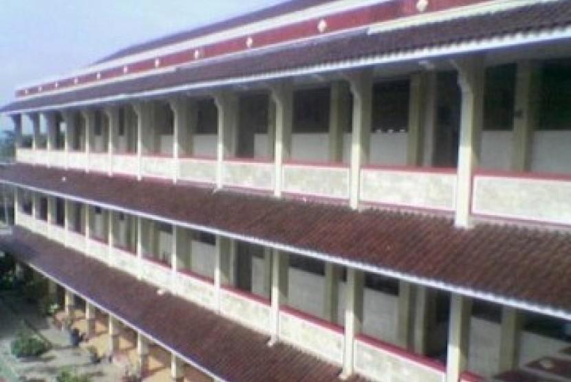 Gedung sekolah di Purwokerto (ilustrasi).