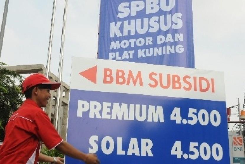 Solar bersubsidi (ilustrasi)
