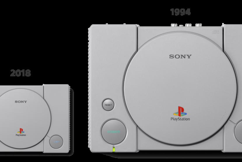 Sony akan merilis Playstation Classic (PS 1) dalam versi mini.